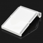 Multi-Function 3-Fold Holder Stand for Ipad - White