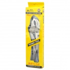 "Rewin 10"" High-Carbon Steel Lock-Grip Pliers - Silver"