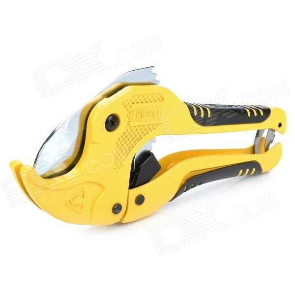 Rewin PVC Pipe Cutter - Yellow + Black ds ct 107 aluminum alloy pipe cutter silver black