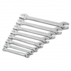 Rewin Open End Spanner Wrench Set - Silver (8-Piece)