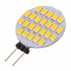 G4 1.2W 5~6LM 3500K Warm White Light 24*SMD LED Plate Module (DC 12V)