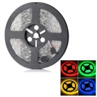 72W Soft Flexible Cuttable 300-LED SMD Lamp Tape Strip - (RGB 5M/DC 12V)