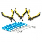 Professional Screwdrivers + Pliers Tool Set (10-Piece)
