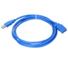 USB 3.0 Male to Female Extension Cable - Blue (1.8M)