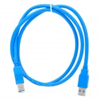 USB 3.0 A-Type Printer Connection Cable - Blue (1.5M Length)