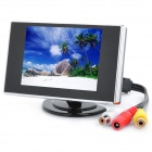 3.5' LCD Visual Reversing / Vehicles Reverse Camera Monitor (NTSC/PAL DC12V)