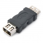 USB Female to 1394 6-Pin Female Adapter