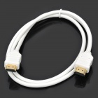 HDMI V1.4 Male to Male Connection Cable - White (1M Length)