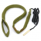 Hoppe's 9 BoreSnake Rifle Gun Bore Cleaner for .380 9mm .357 .38 Caliber - Army Green
