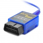 Mini ELM327 USB V1.5 OBDII Car Detection Diagnostic Scan Tool - Blue