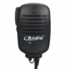 Microphone for Walkie Talkie R-800 w/ Clip - Black (3.5mm Jack)