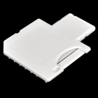 2-in-1 TF Card to SD Card Adapter+ USB Card Reader - White