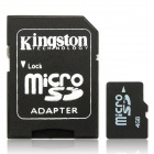 TF / Micro SD Memory Card w/ SD Adapter - 4GB