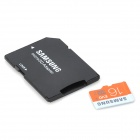 Genuine Samsung TF / Micro SD Memory Card w / Adaptador SD - 16GB (Clase 10)