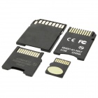 Original Kingston TF / Micro-SD-Memory Card w / SD / MS PRO Duo / Mini-SD-Adapter - 16GB (Class4)