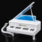 Piano Style Wired Telephone - White