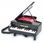 Piano Style Wired Telephone - Black