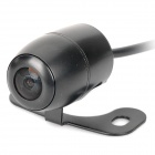 300KP CMOS Wide Angle Waterproof Wired Car Rearview Camera (DC 12V)
