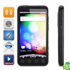 "H5300 Android 2.3 WCDMA Smart Phone w/4.3"" TFT Capacitive, Dual SIM, Wi-Fi and GPS - Black"