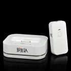 2.4GHz Wireless Audio Transmitter and Receiver for iPhone / iPod - White