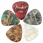 1.5mm Plastic Guitar / Bass Picks (5-Pack)