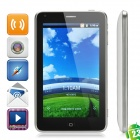 "ZOHO A1103 Android 2.3 WCDMA TV Smart Phone w/5.0"" TFT Capacitive, Dual SIM, Wi-Fi and GPS - White"