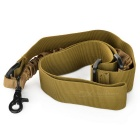 Tactical Military Single Point Rifle Gun Sling Strap - Army Brown (135cm)