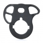 Aluminum Alloy CQB QD Sling Swivel Plate for M4 Rear Stock - Black