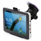 "7 ""Touch-Screen Android 2.3 Tablet PC / GPS Navigator w / Wi-Fi / TF / HDMI / iGO Brasilien Karte (4GB)"