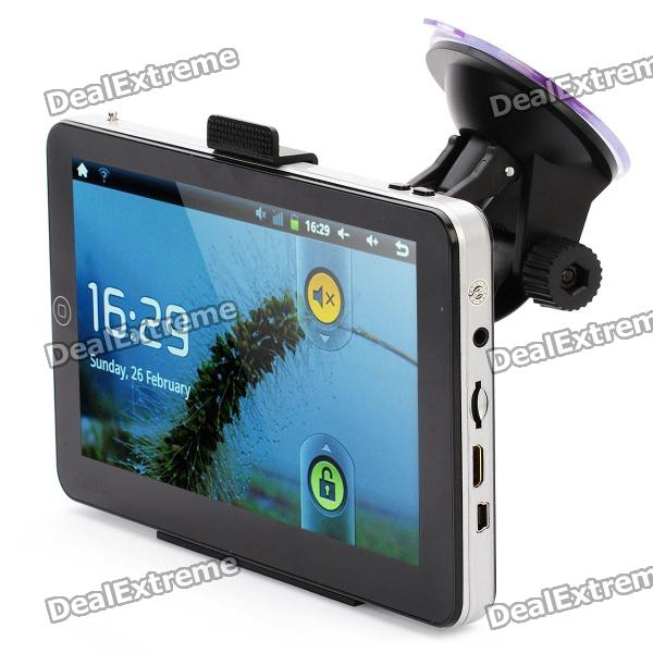 """7"""" Touch Screen Android 2.3 Tablet PC / GPS Navigator w/ Wi-Fi / TF / HDMI / iGO Canada Map (4GB)"""