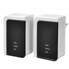 200Mbps RJ45 Communication Ethernet Homeplug PowerLine Adapters (Pair / EU Plug / AC 100~240V)
