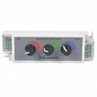 3-CH Manual RGB LED Strip Dimmer (DC 12~24V)