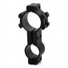 Heavy Duty Gun Mount Holder Clip Clamp for Flashlight (19mm/25mm)