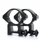 Heavy Duty Gun Mount Holder Clip Clamp for Flashlight (30mm / Pair)