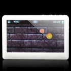 "4.3"" Resistive Screen Multi-Media Player w/ FM / Games / TF / AV-Out - White (4GB)"