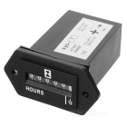 Quartz SYS Hour Meter - Black (DC 12~36V)