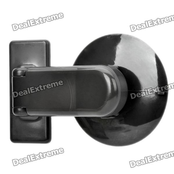 Plastic Safety Lock for Sliding Window - Black brand new 5sets sliding window lock security anti theft bolt lock children safety prevent baby opening sliding window limit lock