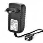 AC Power Adapter Charger for ASUS Transformer TF101 / TF201 - Black (2-Round-Pin Plug)