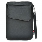 "Decorative Pattern Protective PU Leather Case Bag for Samsung P1000 / 7"" Tablet PC - Black"