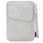 "Decorative Pattern Protective PU Leather Case Bag for Samsung P1000 / 7"" Tablet PC - Light Gray"