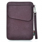 "Dekoratives Muster Protective PU-Leder Tasche für Samsung P1000 / 7 ""Tablet PC - Purple"