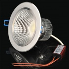 7W 6500K 595-Lumen 1-LED White Light Ceiling Down Lamp w/ Driver (AC 100~240V)