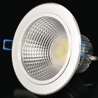 7W 6500K 595-Lumen LED de techo 1-White Light Up Lamp w / Driver (AC 100 ~ 240V)