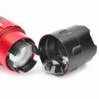 FANDY FIRE H50 XR-E Q5 White LED 3-Mode 200LM Convex Lens Flashlight w/ AC & Car Charger (1x18650)