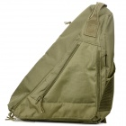 Waterproof Tactical Single Shoulder Strap Triangle Backpack - Army Green
