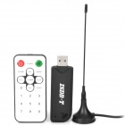 ISDB-T Digital TV Receiver USB Dongle w/ Remote Control / Antenna - Black