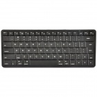 2.4GHz Bluetooth V2.0 83-Key Keyboard - Black
