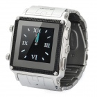 "W818 GSM Watch Phone / w 1,5 ""TFT Resistive, Single-SIM-, Quadband, Java-und FM - Schwarz + Silber"