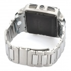 "W818 GSM Watch Phone /w 1.5"" TFT Resistive, Single SIM, Quadband, Java and FM - Black + Silver"