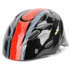 Cool Sports Cycling Helmet for Children - Red + Black